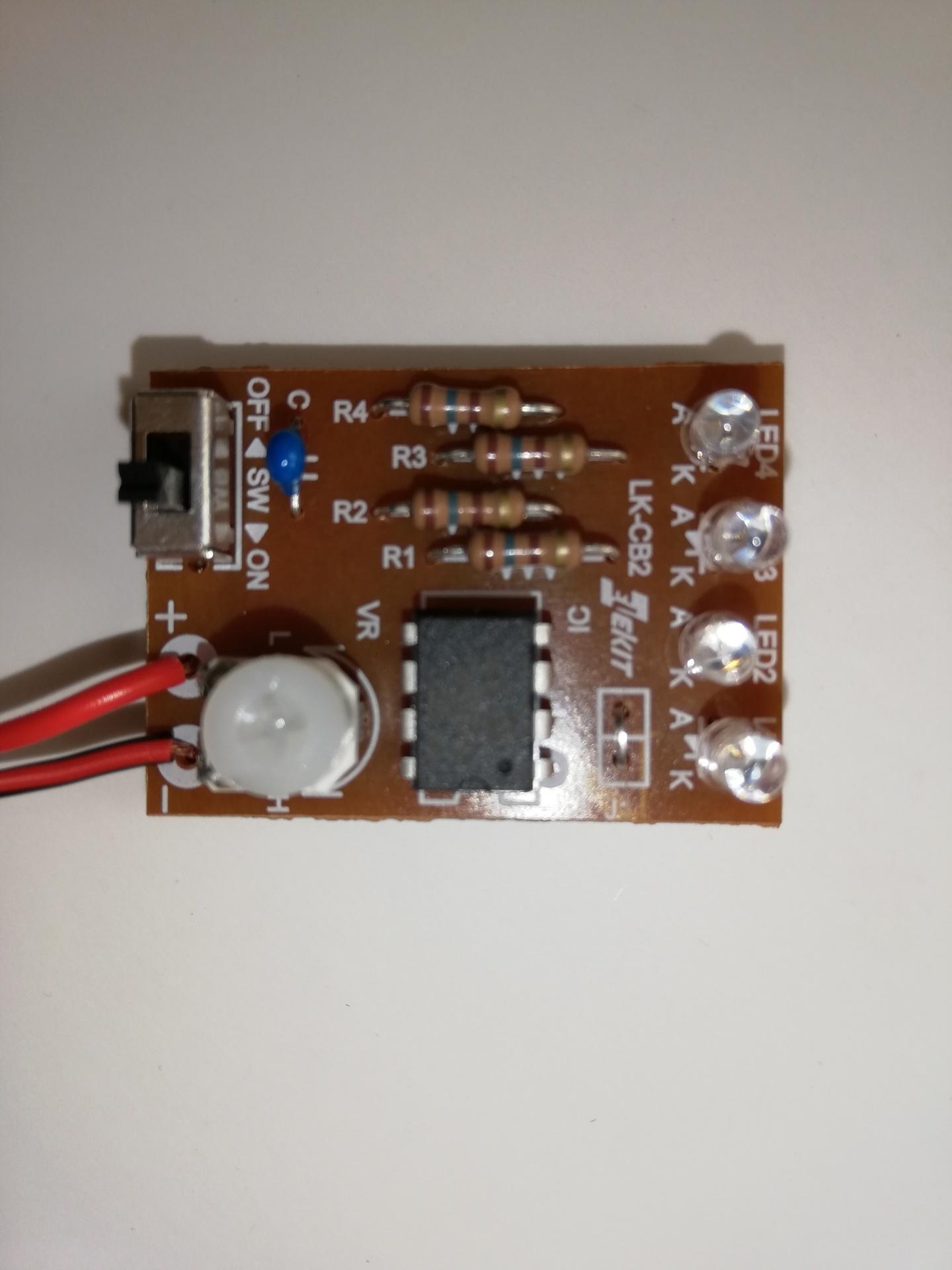 LED順送り点灯キット [ LK-CB2 ]の完成: 自作PC/エクセル/その他